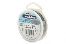 Beadalon® Bead Stringing Wire - 49 Strands - .015