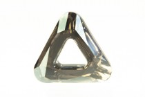 Crystal Golden Shadow CAL V Sl 4737 20mm Swarovski Elements Crystal Cosmic Triangle