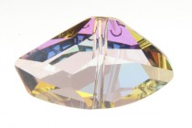 Crystal Purple Haze 5556 Swarovski &reg: Crystal with third-party coating,Galactic Vertical Bead