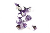 Violet Comet Argent Light 5301/5328 Swarovski Elements Crystal Bicone Bead