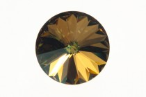Crystal Verde 1112 Swarovski &reg: Crystal with third-party coating,Faceted Rivoli Rhinestone Foil