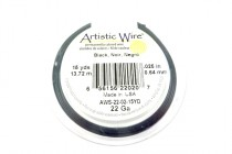 Artistic Wire® Black 22 Gauge 15 Yards
