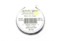 Artistic Wire® Black 20 Gauge 15 Yards