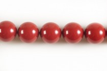 Crystal Red Coral - Swarovski Round Pearls 5810