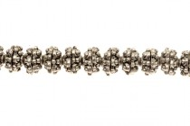 Pewter Bead Cap - 8x3mm