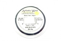 Artistic Wire® Black 26 Gauge 30 Yards