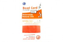 Griffin Natural Silk Bead Cord - Red