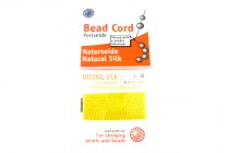 Griffin Natural Silk Bead Cord - Yellow