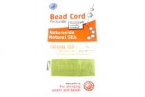 Griffin Natural Silk Bead Cord - Light Green Jade