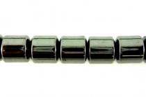 Hematine (Imitation Hematite) Drum Gemstone Beads