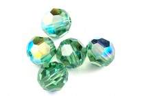 Erinite AB 5000 Swarovski Crystal Round Beads - Factory Pack Quantity