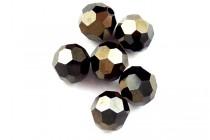 Jet Nut AB 2X 5000 Swarovski Crystal Round Beads - Factory Pack Quantity