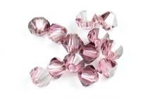 Light Rose Satin 5301 Swarovski Elements Crystal Bicone Bead