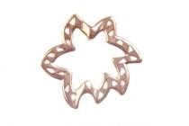 Copper over Brass Bead Frame - Freeform - JBB Findings