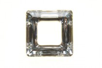 Crystal CAL V Sl  4439 Swarovski Elements Crystal Square Fancy Stone Pendant
