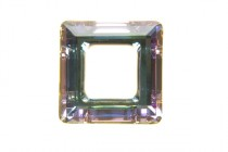 Crystal Vitrail Light 4439 Swarovski Elements Crystal Square Fancy Stone Pendant