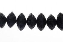 Black Cinnabar ( Imitation ) Beads - Abacus - CB-13