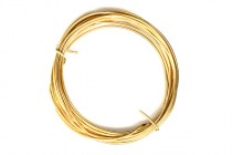 14K Gold Filled 18 Gauge Wire - 1/2 Round