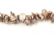 Kishi Freshwater Pearls, Light Brown, 6-7mm