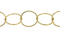 14Kt Gold FilledCircle Chain 9mm
