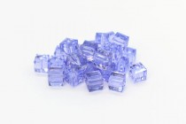 Provence Lavender 5601 Swarovski Elements Crystal Cube Beads