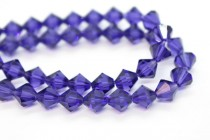 Purple Velvet 5301/5328 Swarovski Elements Crystal Bicone Bead