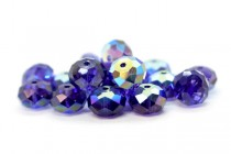 Purple Velvet AB 5040 Swarovski Elements Crystal Rondelle Bead