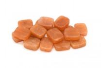 Red Aventurine (Natural) Flat Rectangle Gemstone Beads