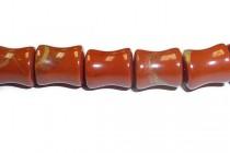 Red Jasper (Natural) Spool Gemstone Beads