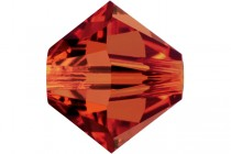 Red Magma 5301/5328 Swarovski Crystal Bicone Beads - Factory Pack Quantity