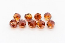 Crystal Red Magma 5000 Swarovski Elements Crystal Round Bead