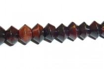 Red Tigers Eye (Natural) Saucer Gemstone Beads