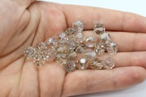 Crystal Silver Shade Swarovski Crystal Round Beads 5000