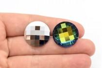 Crystal Sahara Swarovski Crystal Round Back Rhinestone 2035