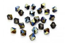 Crystal Sahara Swarovski Crystal Bicone Beads 5301/5328