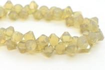 Sand Opal Swarovski Crystal Top Drilled Bicone Pendants 6301
