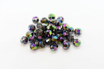 Crystal Scarabaeus Green 5000 Swarovski Elements Crystal Round Bead