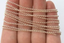 Sterling Silver Rolo Chain 1mm