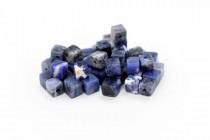 Sodalite (Natural) Cube Gemstone Beads