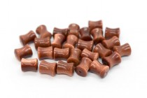 Brown Goldstone (Man Made) Spool Gemstone Beads
