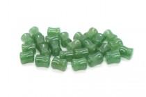 Green Aventurine (Natural) Spool Gemstone Beads