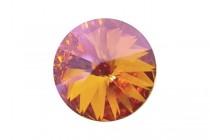Crystal Summer Blush 1122 Swarovski Elements Crystal Faceted Rivoli Rhinestone