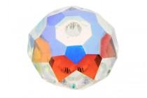 Crystal AB 5040 Swarovski Elements Crystal Faceted Briolette (Rondelle )  Bead