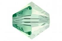 Chrysolite Satin 5301 Swarovski Crystal Bicone Bead