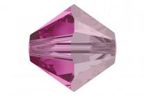 Fuchsia Satin 5301/5328 Swarovski Crystal Bicone Beads - Factory Pack Quantity