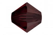 Garnet Satin 5301/5328 Swarovski Crystal Bicone Beads - Factory Pack Quantity