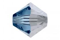 Montana Satin 5301/5328 Swarovski Crystal Bicone Beads - Factory Pack Quantity