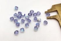 Light Tanzanite AB 5301/5328 Swarovski Elements Crystal Bicone Bead