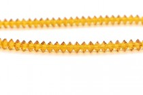 Bead,Swarovski crystals, topaz, faceted Flat Bicone Rondelle Spacer,5305.