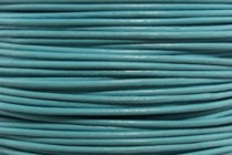 Greek Round Leather Cord - Turquoise